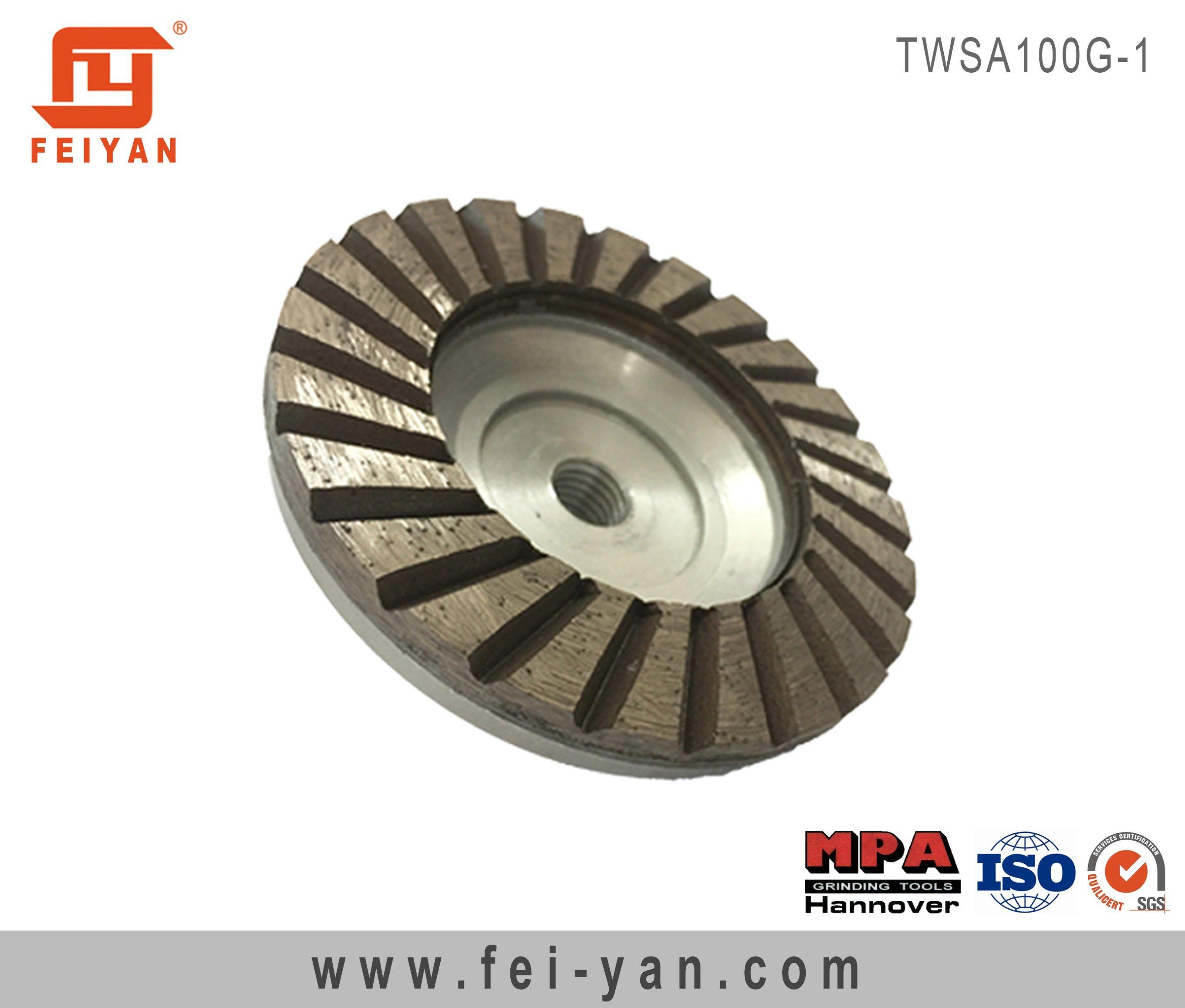 Turbo Type Single Row Cup Wheel
