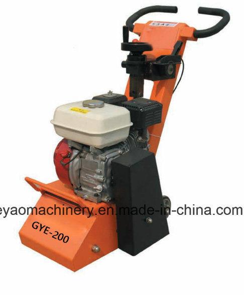 Gasoline Concrete Scarifier with Honda Gx160 Gye-200