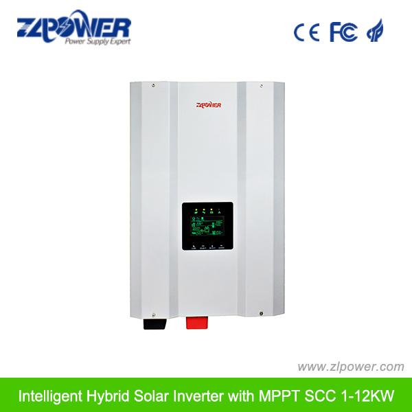 8000W 10kw 12kw MPPT Scc Pure Sine Wave Solar Inverter Hybrid Charger Inverter