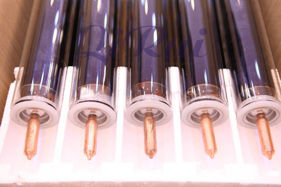Non Freeze Heat Pipe Solar Collector Solar Heating System Glass Tube