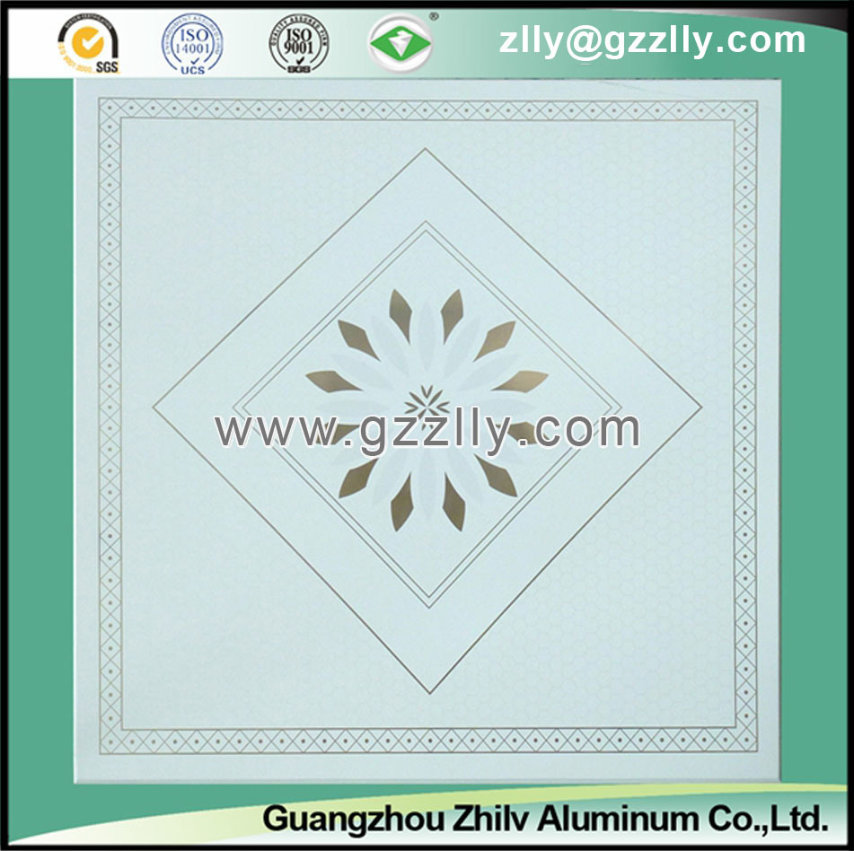 Decorative Roller Coating Printing Ceiling Panel-Building Material -Champs Elysees