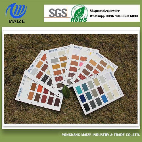 Hot Sale Pantone Color Pure Polyester Powder Coating