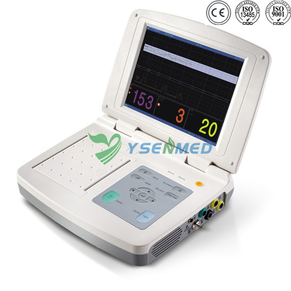 Hospital Medical Vital Signs Cardiac Multi Parameter Patient Monitor