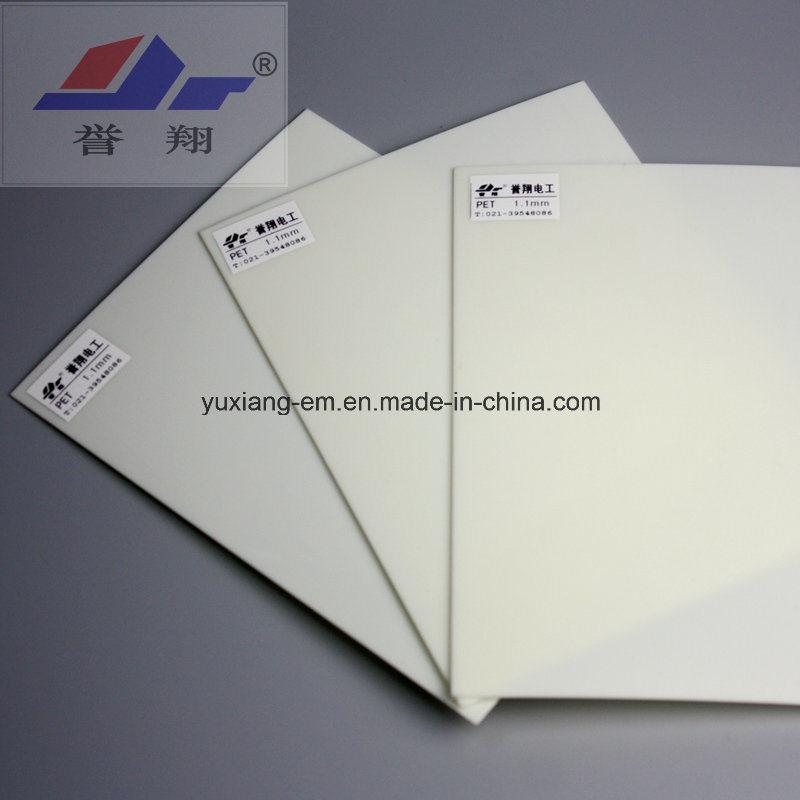 High Quality Polyester Film/ Flexible Pet Film (Milky White, Transparent)