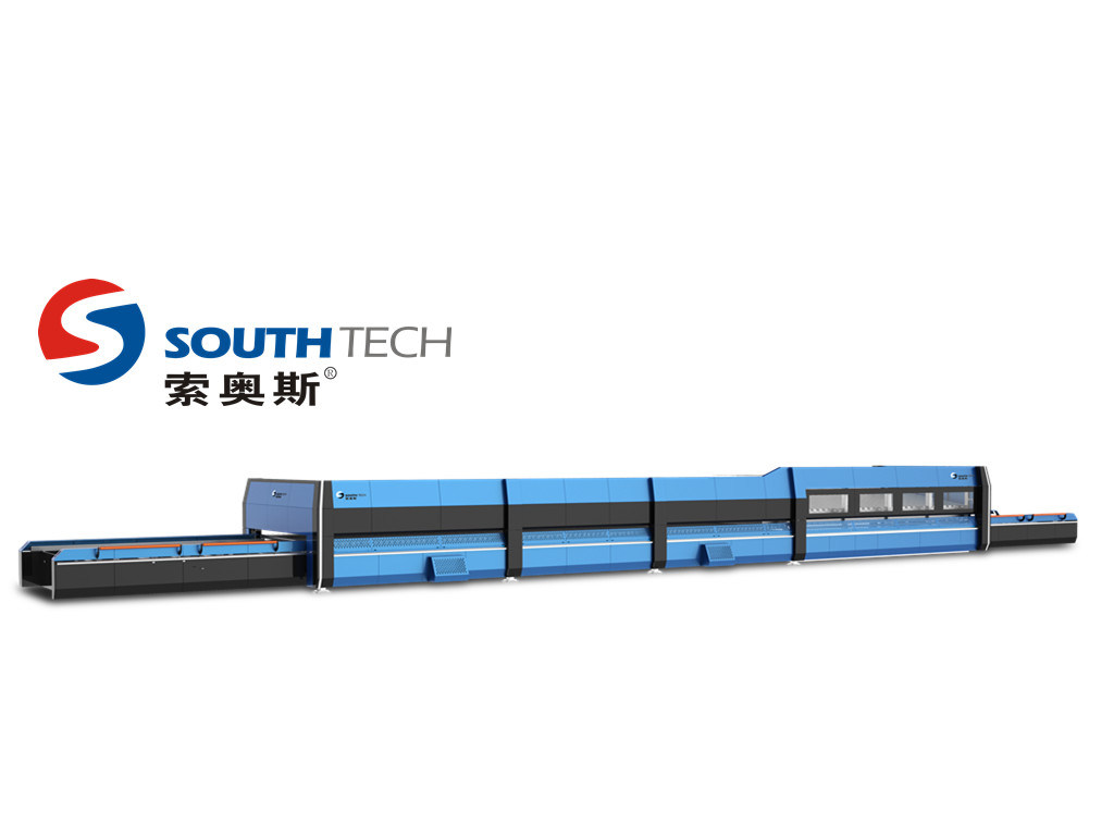 Southtech Flat Tempered with Passing Section Building Glass Making Machine (TPG)