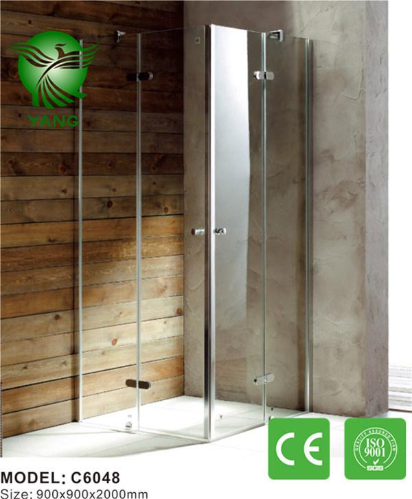 Aluminum Frame Glass Made in China Sliding Shower Enclosure