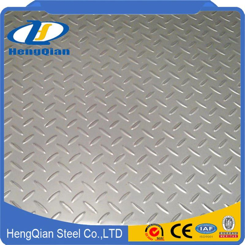 Corrugated Sheet AISI 201 304 316 Cold Rolled Stainless Steel Sheet