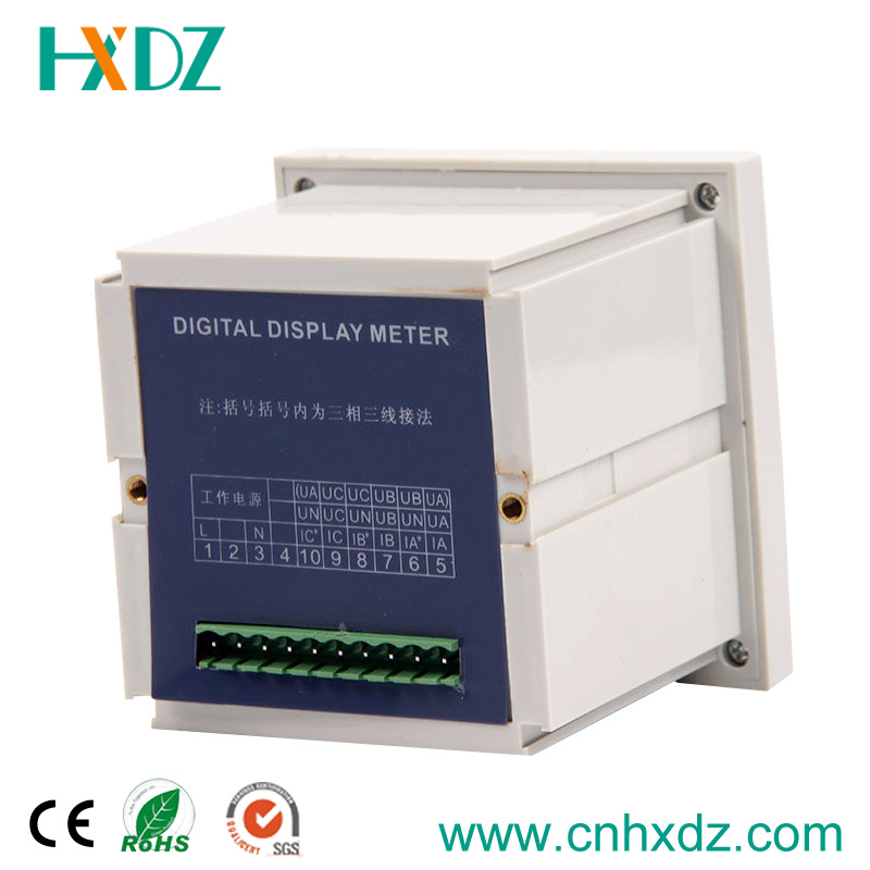 Three Phase Digital Display LED Voltage Meter Electric Voltmeter