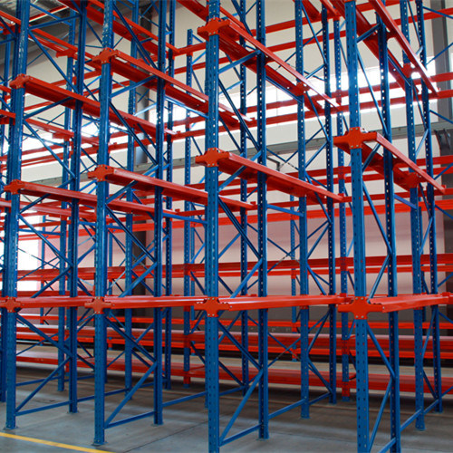 Drive in Racking with Filo for Food Industry