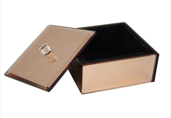 Customize Mirror Acrylic Jewelry Packing Box Gift Box