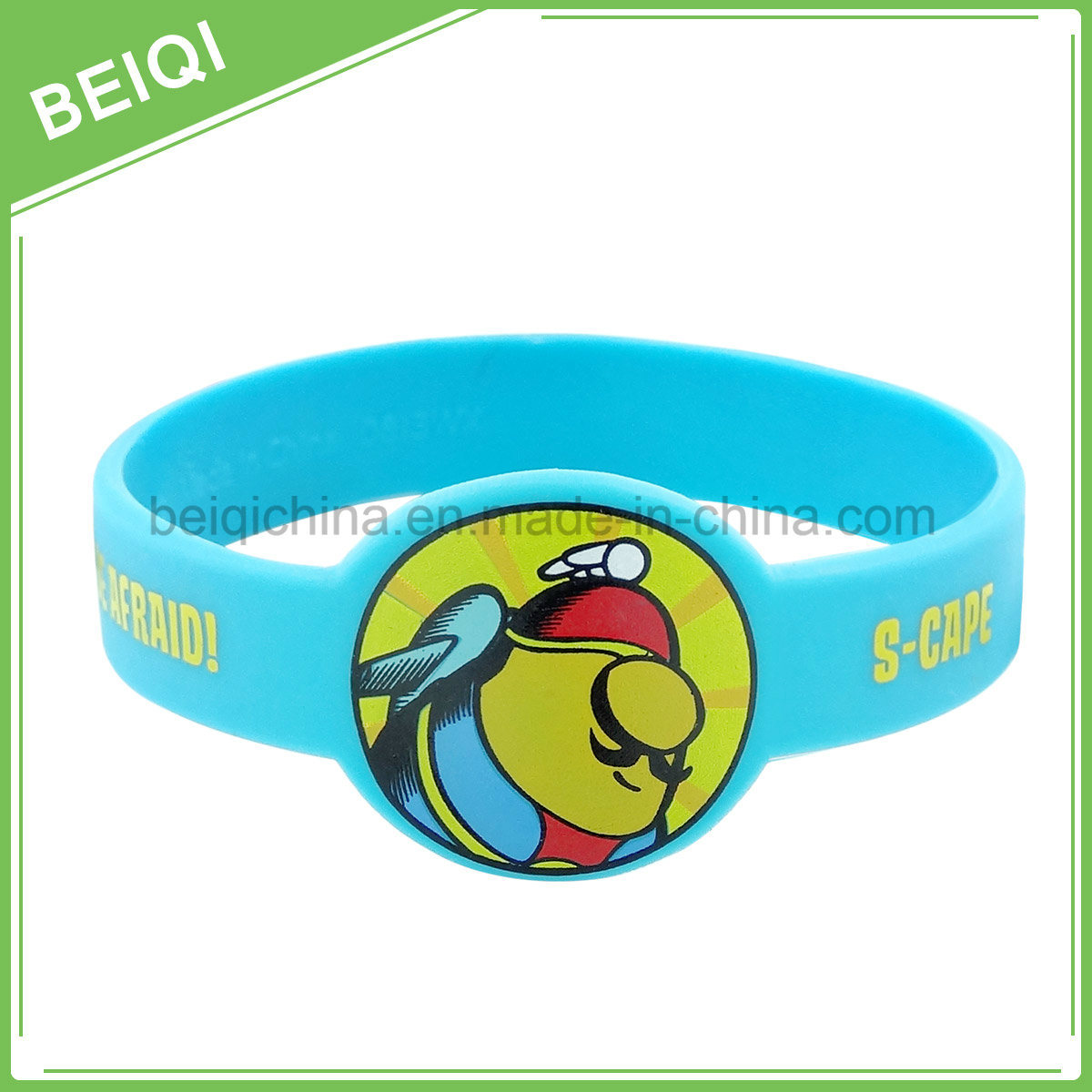 Promotional Custom Logo Printing Silicone Wristband Watch
