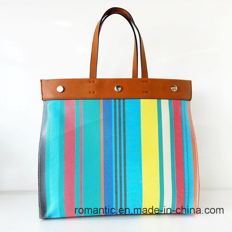 Fancy Colorful Elegant Lady PU Leather Briefcase (NMDK-032206)