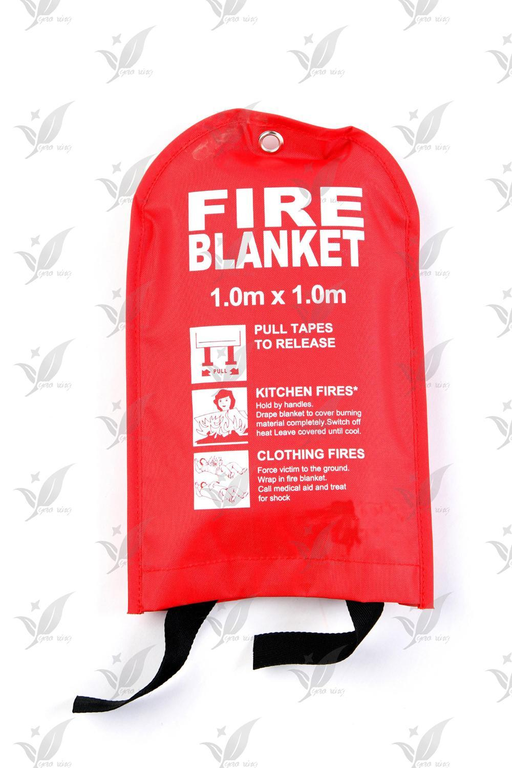 Fiber Glass Fire Blanket for Home School