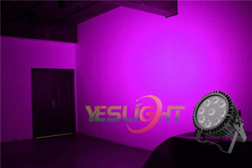 Waterproof LED PAR Can RGBW 4in1 9PCS*10W LEDs