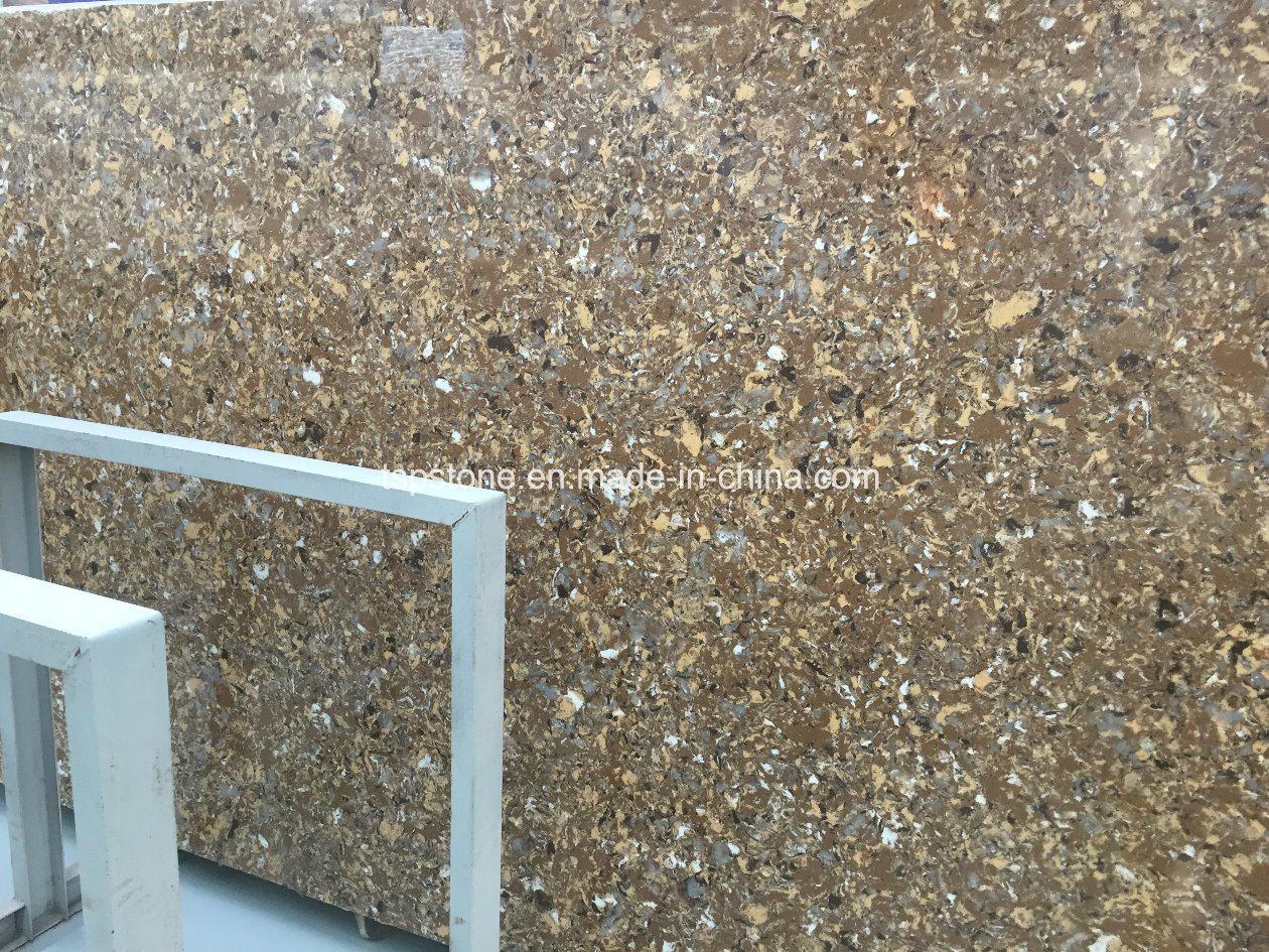 Artificial Engineered Quartz Stone for Kitchen Top