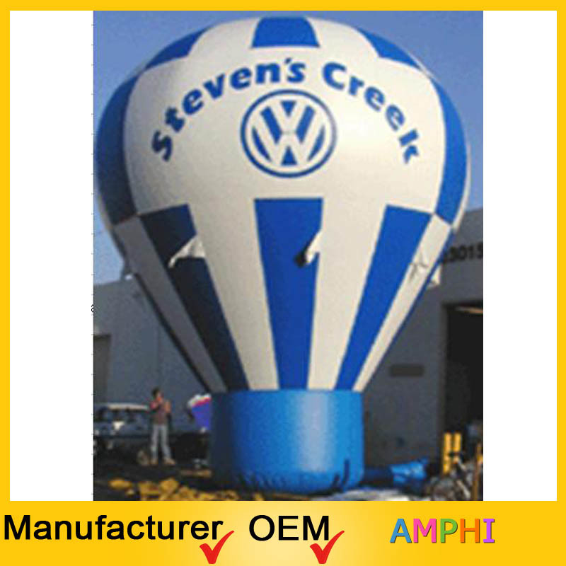 Good Price Advertising Inflatable Hot Air Shape Ground Balloon