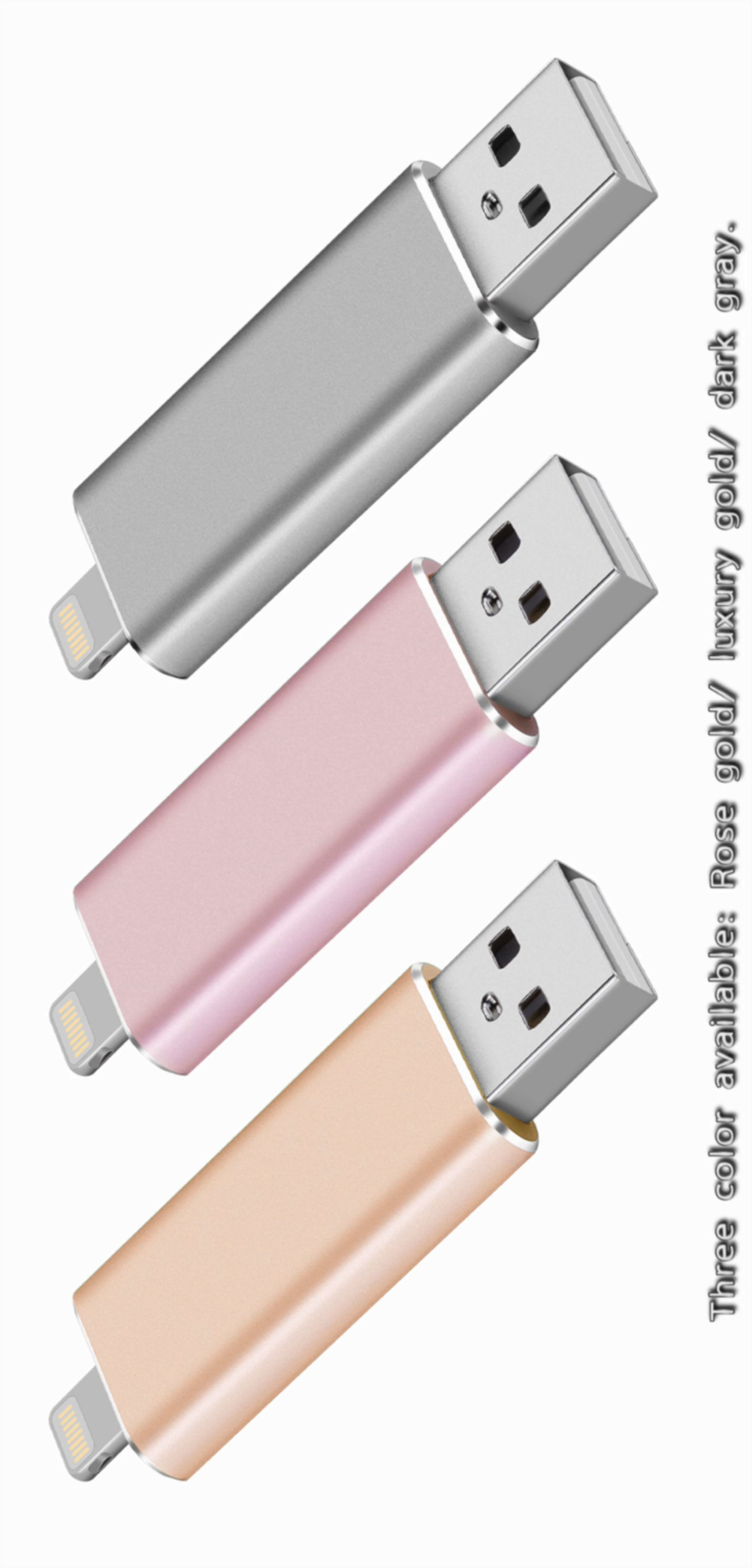Wholesales Price OTG 16g/32g/64G USB Flash Drive Memory Stick for iPhone/iPad/iPod