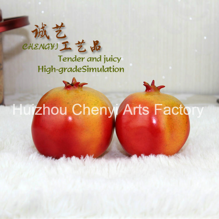 Red Artificial Pomegranate for Beautiful Decoration