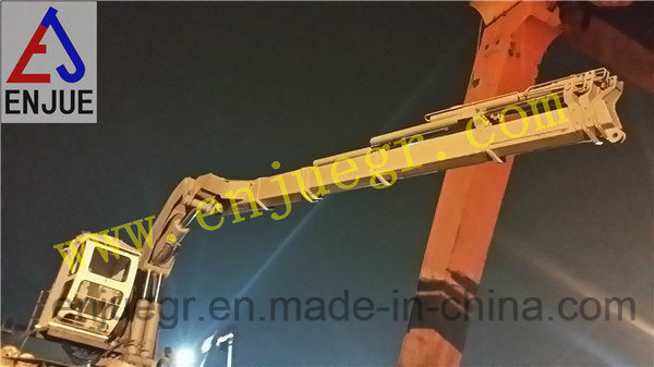 Hydraulic Fixed Telescopic Boom Marine Offshore Ship Deck Crane