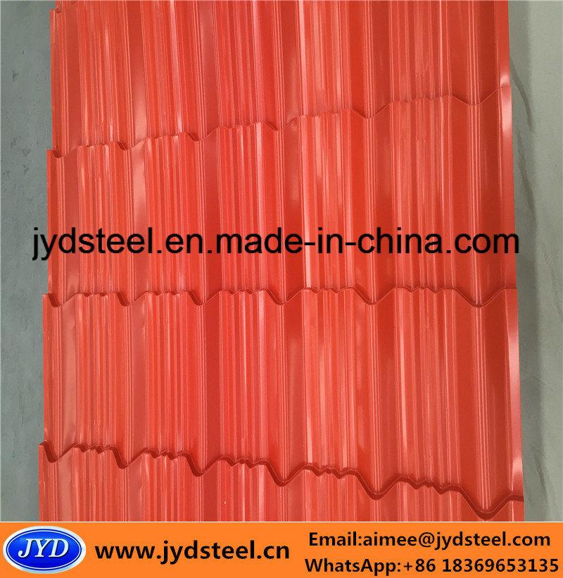 Corrugated PPGI for Steel Roofing Sheet