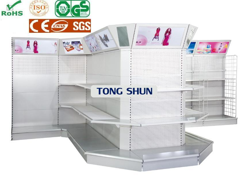 Supermarket or Retail Store Shelf for Shoes with Multy Sides