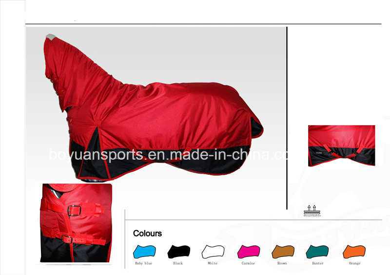 1680d Waterproof and Breathable Horse Rug Horse Product Horse Combo Equestrian Products for Sale