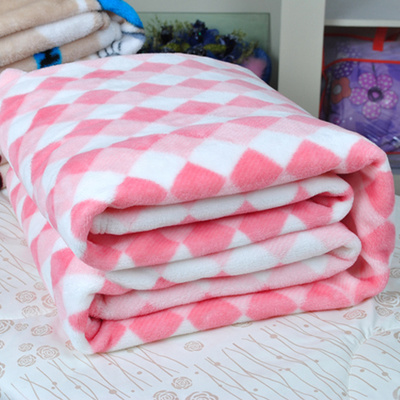 Hot Sale Printed Microfiber Fleece Blanket