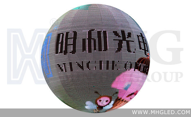 Indoor P10 LED Ball Shape LED Display Screen (P10)