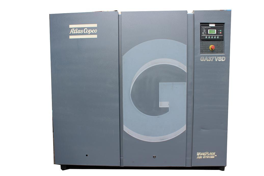 Second Handed Refurbished Used Rotary Screw Air Compressor