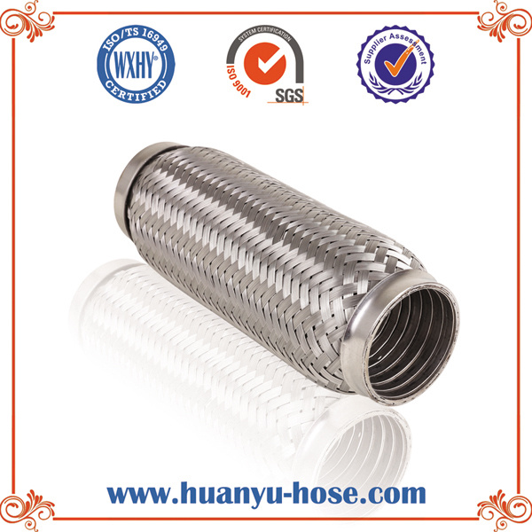 Stainless Steel Flexible Exhaust Pipe with Interlock