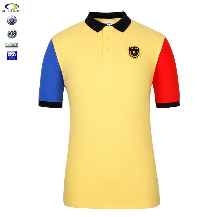 China design color combination polo t shirt china polo for Polo shirt color combination