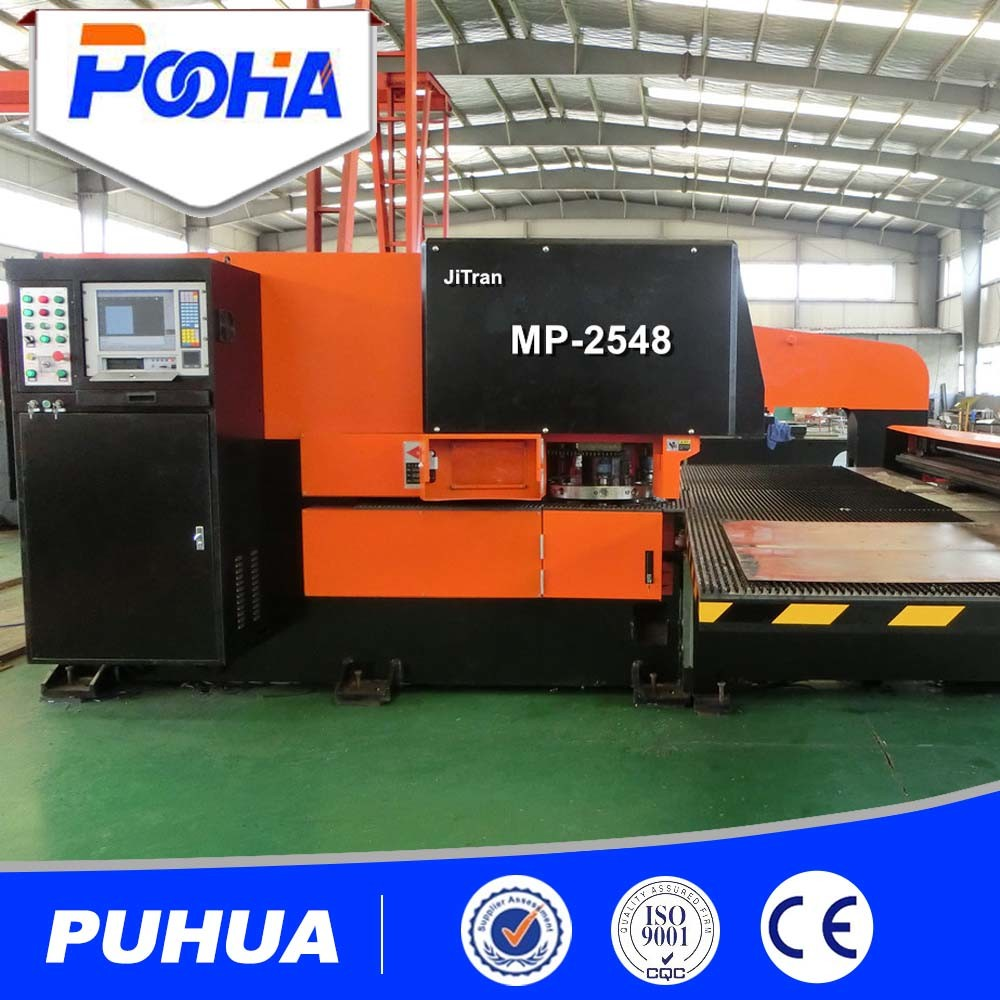 Mechanical Sheet Metal Hole CNC Turret Punch Press Machine