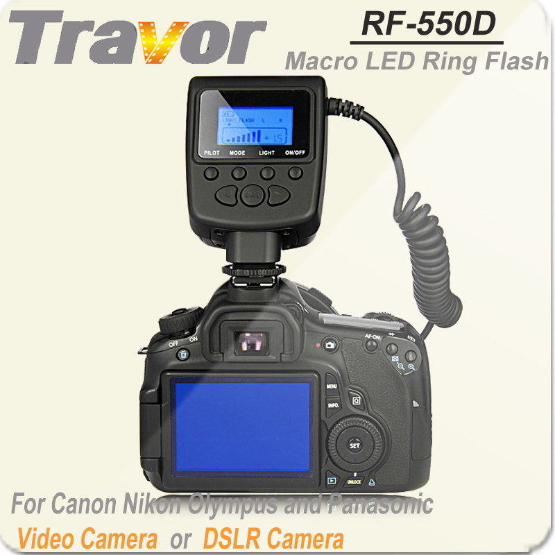 Macro Camera Flash Light RF-550d for Canon&Nikon&Olympus&Panasonic DSLR Cameras