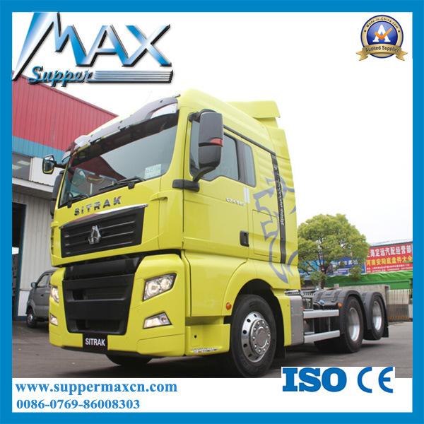 Sino Trucks Sitrak C7h 6X2 Tractor Truck 540HP Euro 5 for Sale