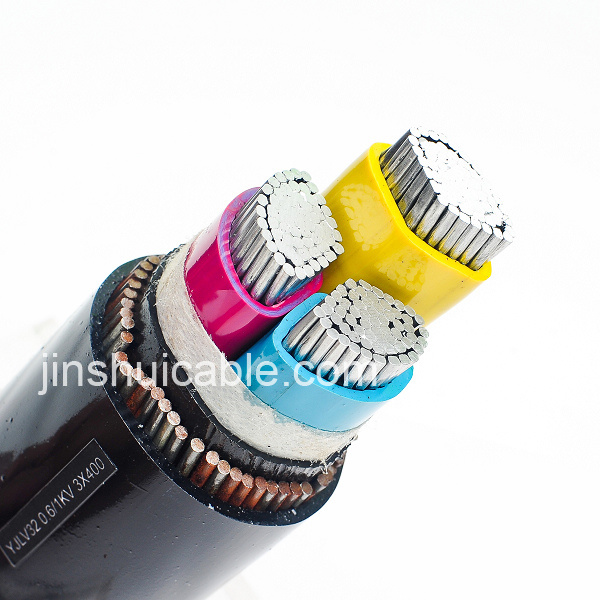 PVC Insulated Power Cable Fire Resistant Cable for All Stangdard