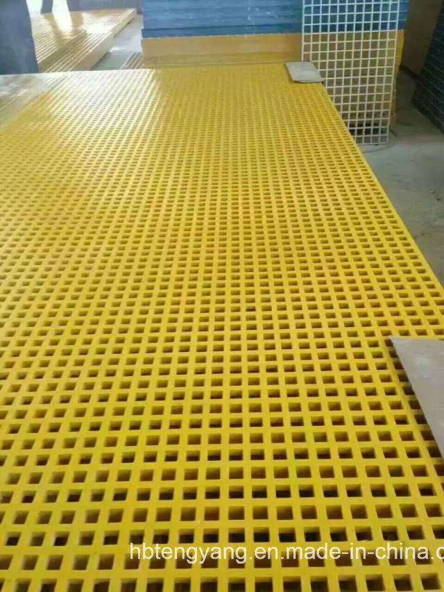 Durable Fiberglass Reinforced Plastic Grating for Swimming Pool