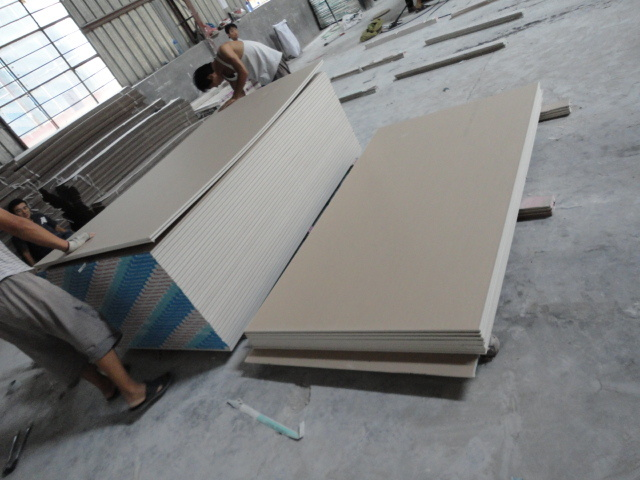 Manufacture Gypsum Board/Plaster Board /Drywall Board with Factory Price