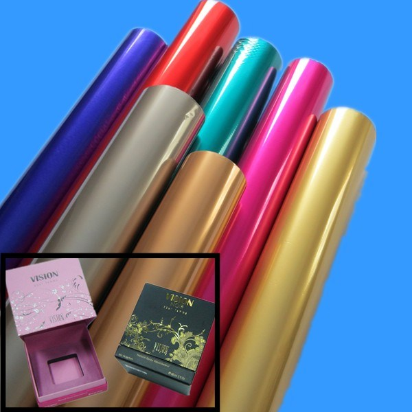 Metallic Adhesive Paper for Stamping