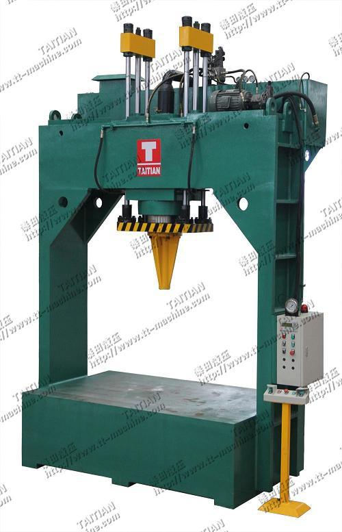 Hydraulic Metal Straightening Machine (TT-XZ400T)