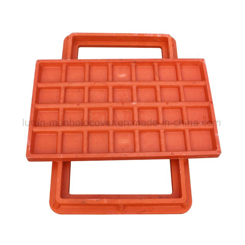 Anti-Theft D400 SMC Composite Manhole Cover with Hinge