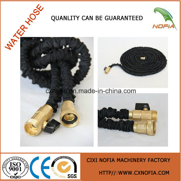 2016 Expandable Garden Hose with Brass Fittings