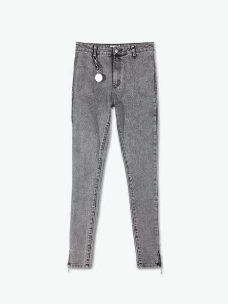 Blue Women Denim Skinny Jeans