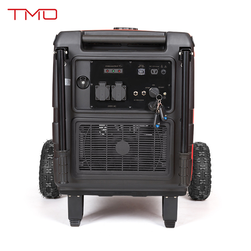 Certificated by EPA, GS, Ce 5.5kVA 5kw Electric Start, Remote Control, Inverter Generator