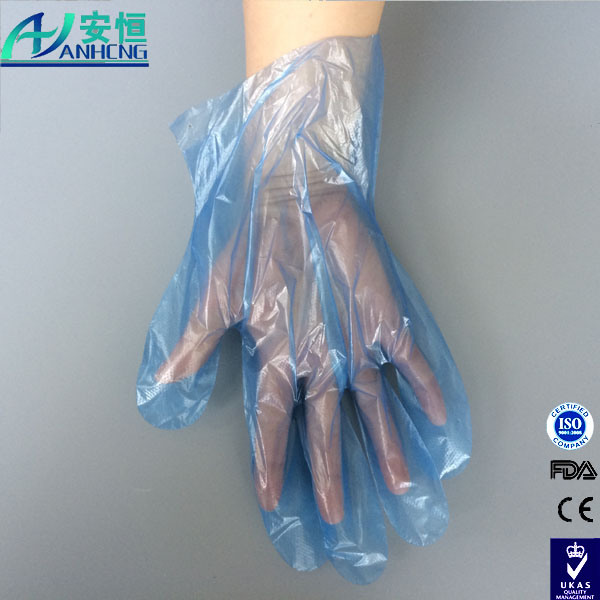 Food Grade Clear Disposable Protective Plastic PE Gloves