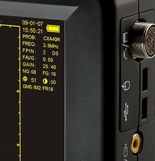 Animal Veterinary Ultrasound Black Doppler Laptop Handheld Veterinary Doppler