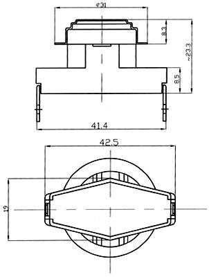 Thermostat (KSD15A, KSD40A)