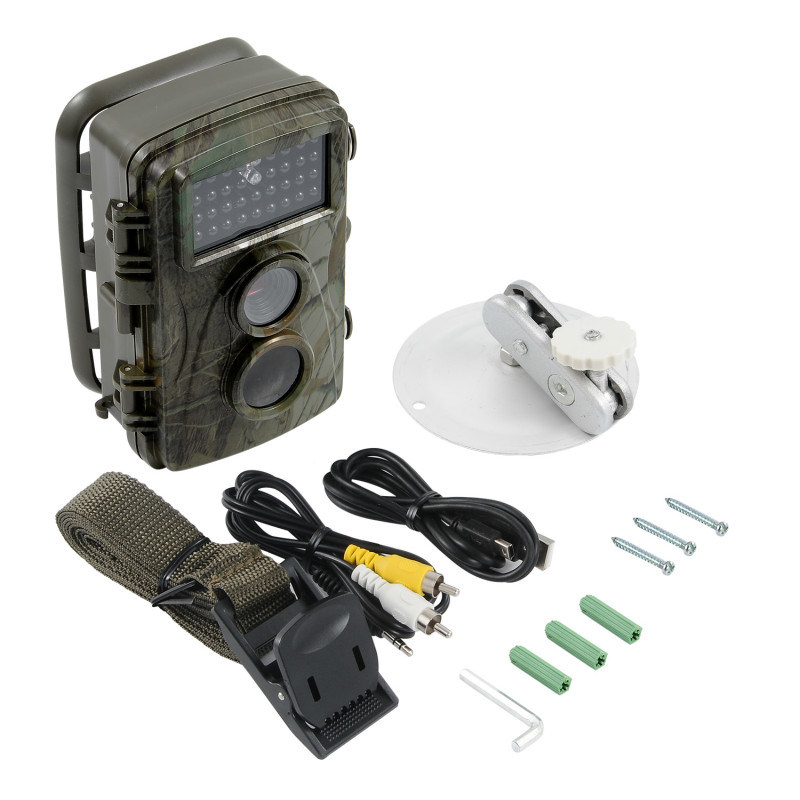 "12MP 1080P 2.4"" LCD IR Night Vision Wildlife Camera"