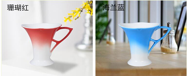 Creative Butterfly Ceramic Coffee Mug Beautiful Tea Cup
