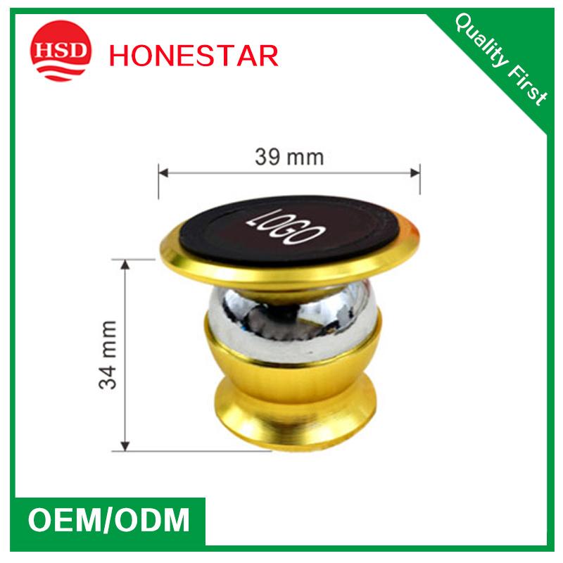 360 Degree Rotation Cell Mobile Phone Car Mount Magnetic Holder