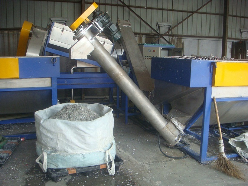 Plastic Pet Waste Bottle Recycle Line